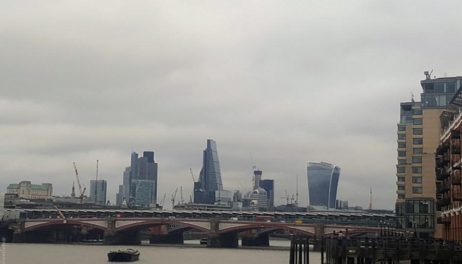 sunday at tower bridge thames view