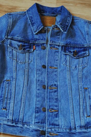 December purchases- levi's denim jacket