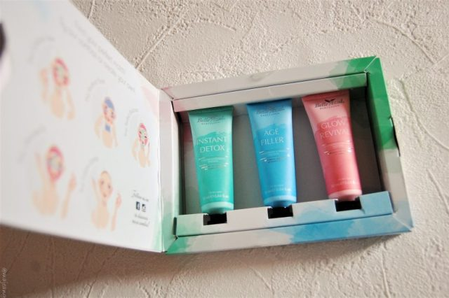 Multimasking with belle azul, trio