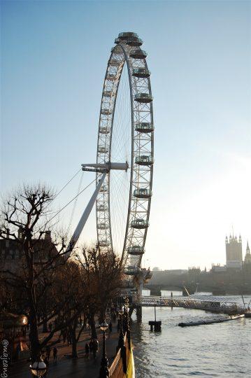 24 hours in London, london eye