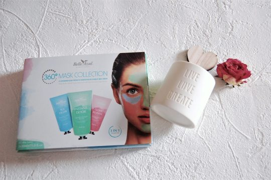 Multimasking with Belle Azul