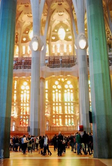 post-holiday blues, La Sagrada Familia
