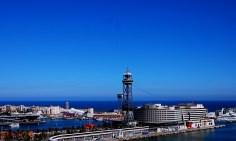 5 Places that are easy to travel around solo-Teleférico de Barcelona