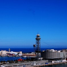 5 Places that are easy to travel around solo-Teleférico de Barcelona