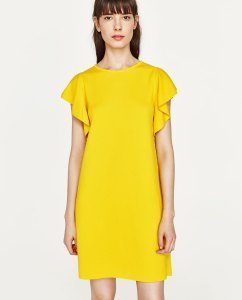 spring summer 2017 colours zara dress
