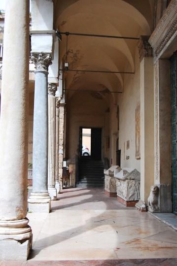salerno cathedral entrance