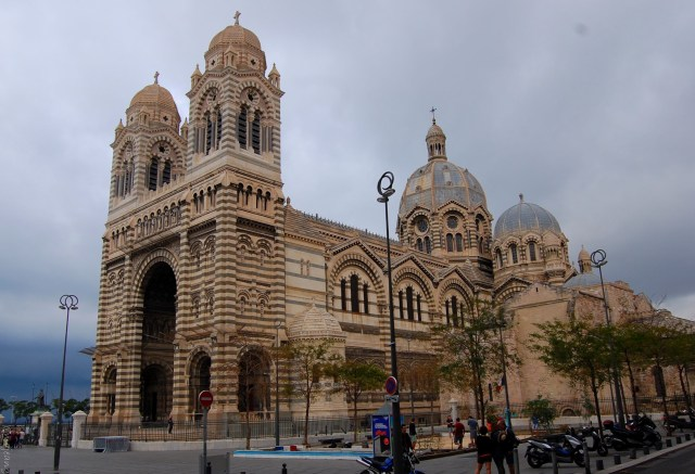 Marseille photo story- cathedral