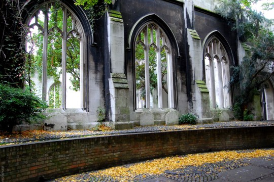the trouble with perfection- st dunstans east