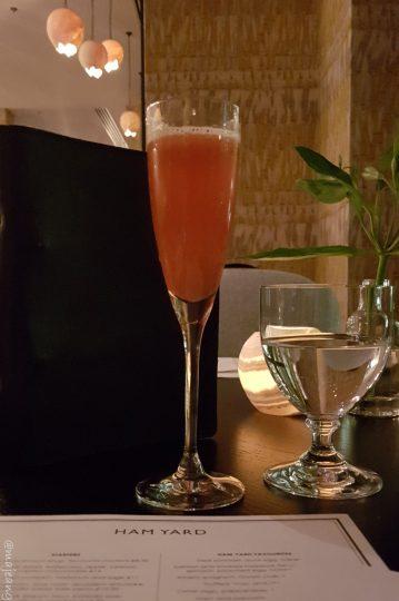 ham yard hotel restaurant- cocktail