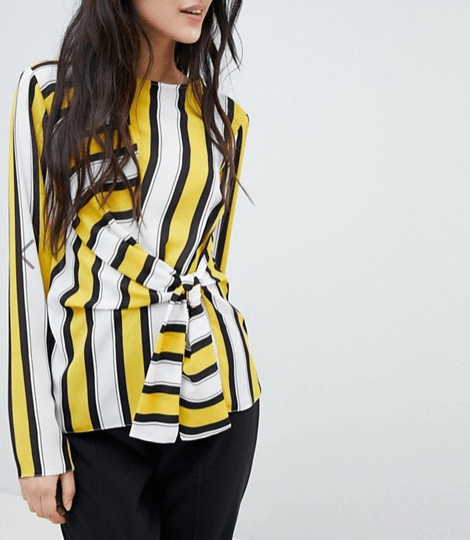 under £40 picks from asos- asos design knot top