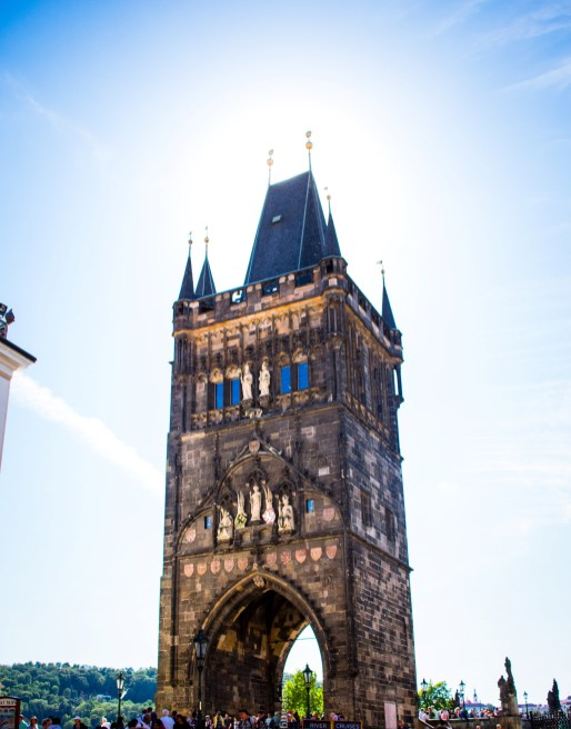 Prague - tower