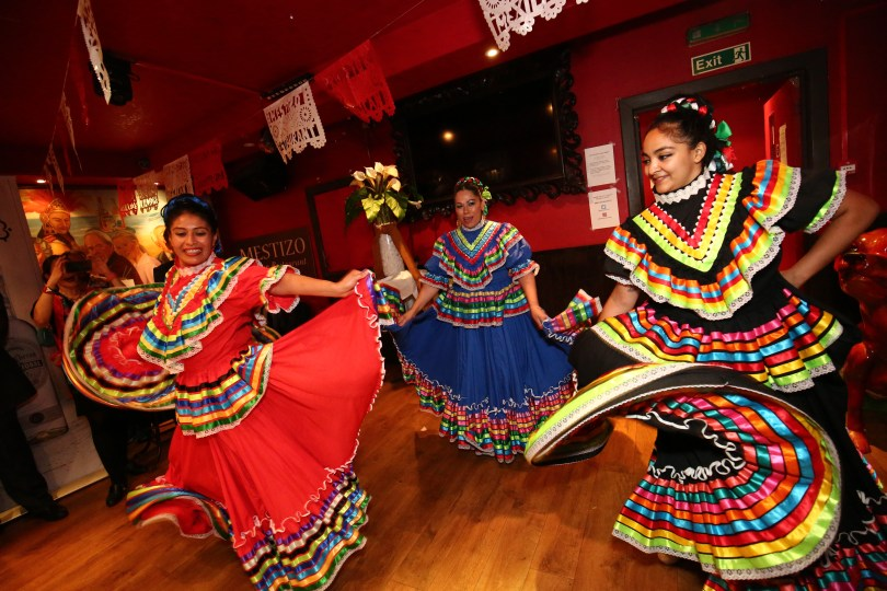 The Mestizo Mexican market- dancers