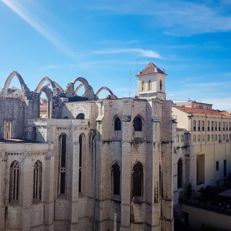 What to do in Lisbon- views from Santa Justa