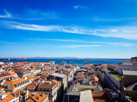 what to do in lisbon- aerial view
