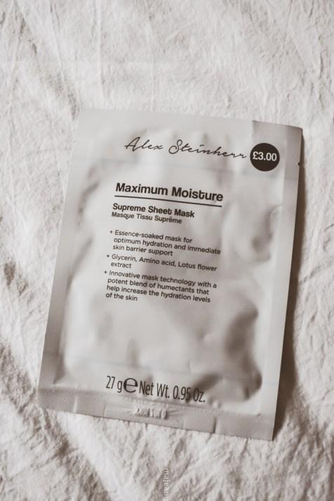 Alex Steinherr X Primark skincare collection -maximum moisture