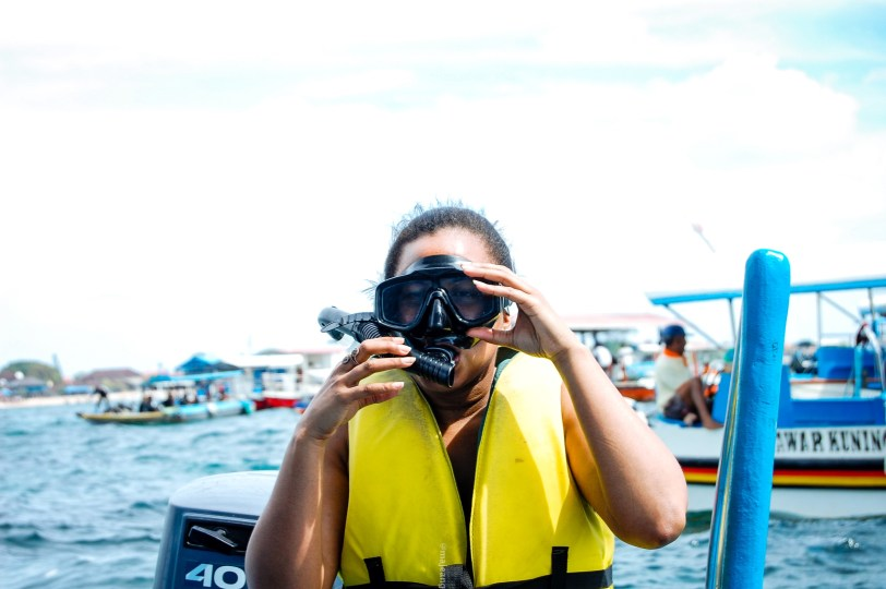 My best ever holiday- snorkeling