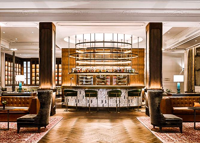 Gran Hotel Inglés- the bar