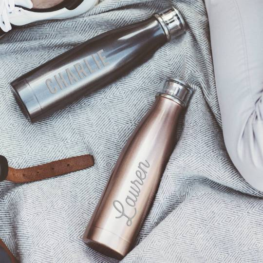 under £30 2018 christmas gift guide- stainless steel water bottle