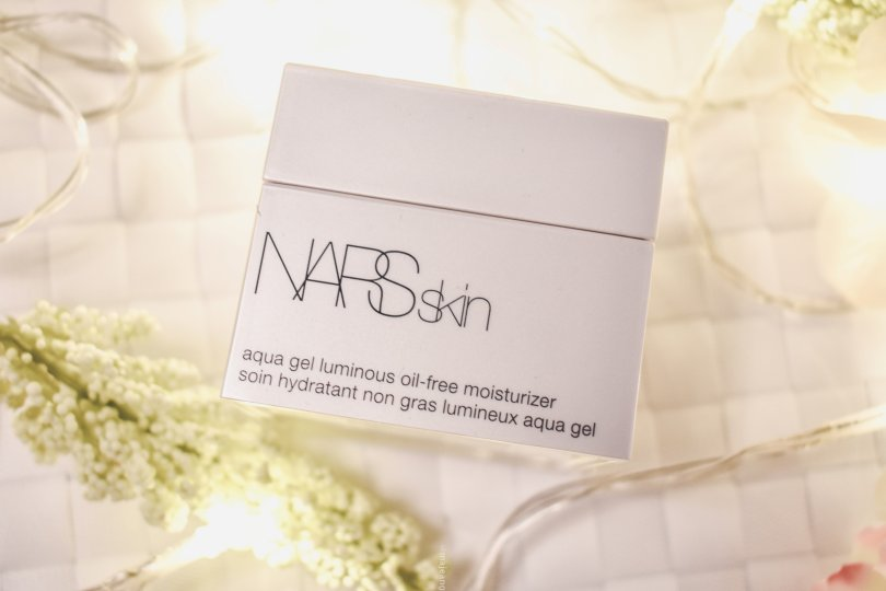 Nars skincare review- aqua gel oil free moisturiser