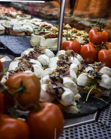 5 reasons madrid makes a great city break- tapas at mercardo San Miguel