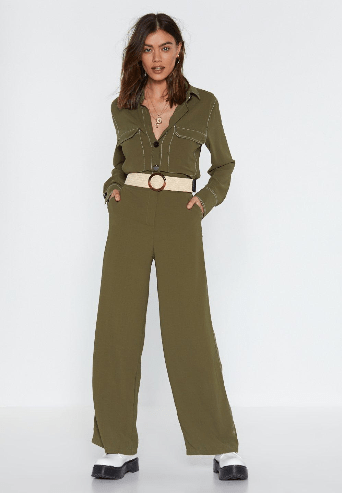 spring fashion edit- utility jumpsuit Nastygal