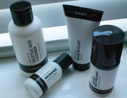reviewing the inkeylist skincare products-night routine