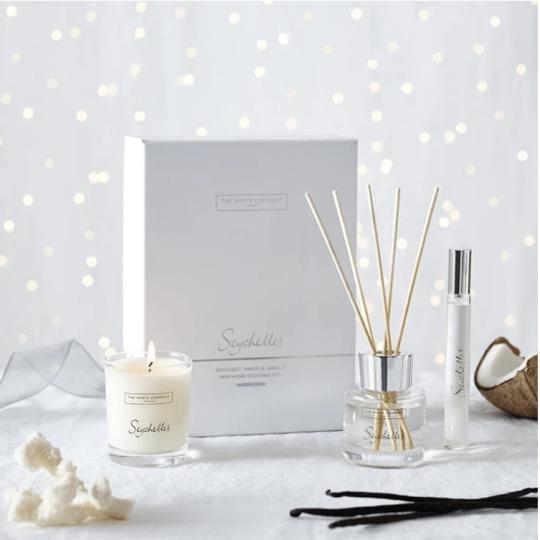 Ultimate Christmas 2020 gift guide  - The White Company Seychelles mini gift set
