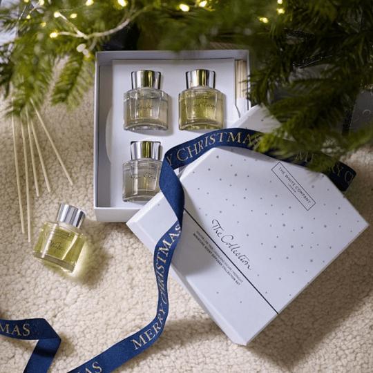 Ultimate Christmas 2020 gift guide - The White Company Seasonal diffuser set