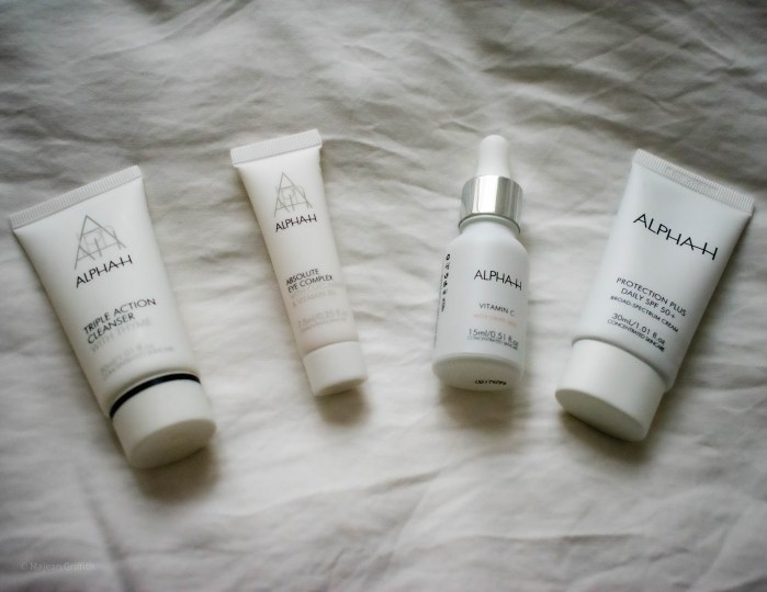 Ultimate starter kit from Alpha-h review - products