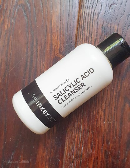 5 affordable cleansers that actually work - The inkeylist salicylic cleanser