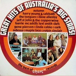 Chart - Great Hits of Australias Big Stars - 100