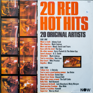 Now - 20 Red Hot Hits - 001 - Front cover