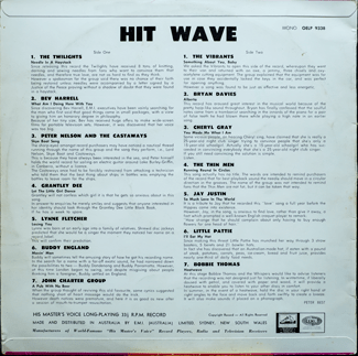 Hit Wave - back cover
