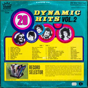 Majestic - Dynamic Hits 2 - TA240 - Back cover