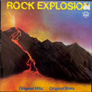 Majestic - Rock Explosion - TA247 - Front cover