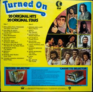 Ktel - Turned On - TA253 - Back cover