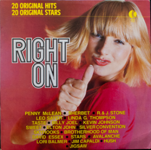 Ktel - Right On - TA255 - Front cover