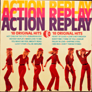 Ktel - Action Replay - TA261 - Front cover