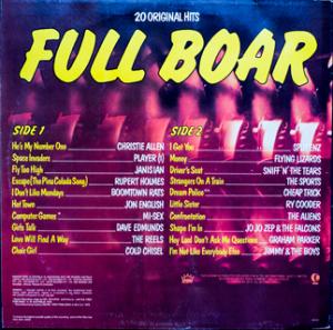 Ktel - Full Boar - TA263 - Back cover
