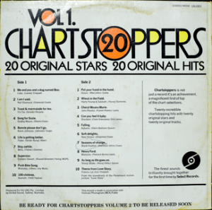 Select - Chartstoppers 1 - US1001 - Back cover