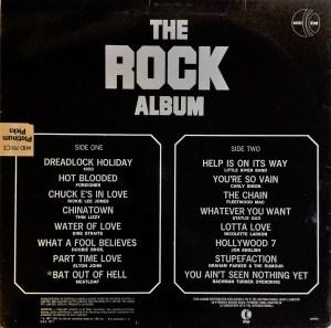 ktel - Rock Album - na563 - back cover