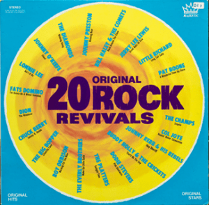 Majestic - Rock Revivals - NA442 - Front cover