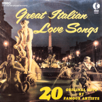 Ktel - Great Italian Love SOngs - NA452 - Front cover