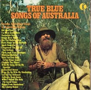 Ktel - True Blue Songs of Australia - NA454 - Front cover
