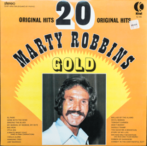 K-tel - Marty Robbins Gold - front cover
