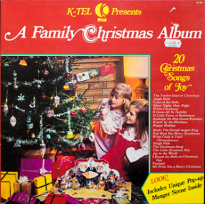 K-tel - A Family Christmas Album -  front cover