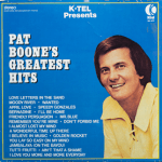 K-tel - Pat Boone's Greatest its - front cover