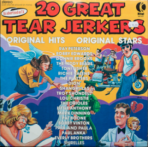 K-Tel - 20 Great Tear Jerkers - front cover