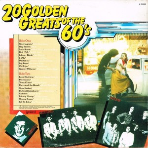 20 Golden Greats Of The 60s - Festival