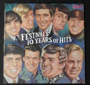Festival - Ten Years of Hits - FL31998 - Front Cover - temp